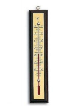Θερμόμετρο δωματίου μαονί 147gr Adolf fenz