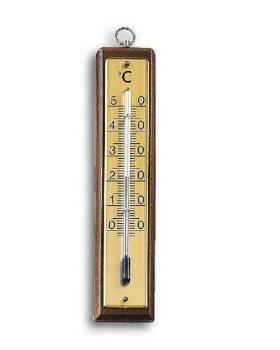 Θερμόμετρο δωματίου καρυδί 32gr Adolf fenz