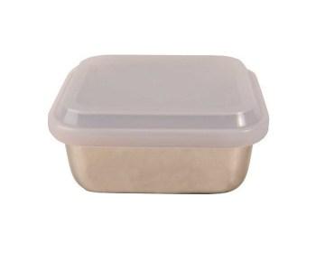 Δοχεία φαγητού ψυγείου ανοξείδωτα Veltihome