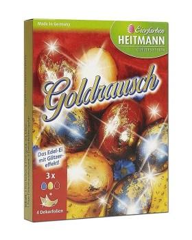 Βαφή αυγών goldrausch heitmann