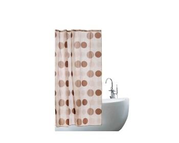 Κουρτίνα μπάνιου υφασμάτινη 180x180 IONION 7038
