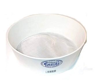 Πλαστικό κόσκινο Kostis με σίτα αλουμινίου 20εκ