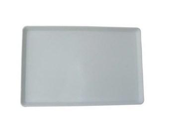 Δίσκος λευκός πλαστικός 24x36x1,8