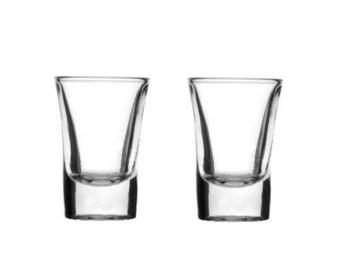 Ποτήρι σφηνάκι ίσιο 34ml