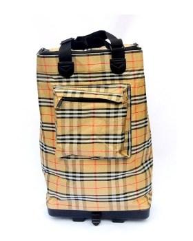 Τσάντα αναδιπλούμενη με ροδάκια