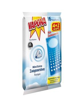 Σκοροκτόνο Vapona 4+2δώρο
