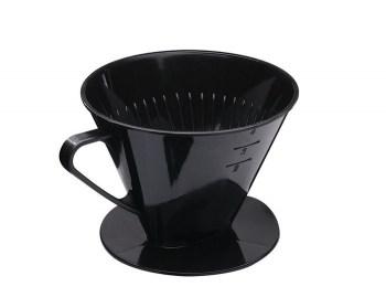 Βάση φίλτρου καφέ πλαστικό μαύρο Westmark