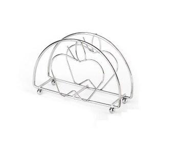 Μεταλλική θήκη για χαρτοπετσέτες μήλο